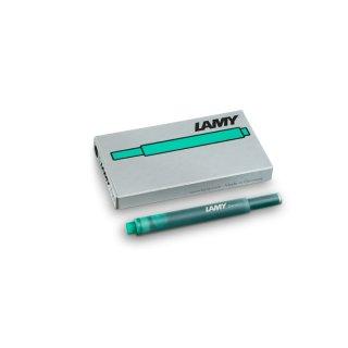 Lamy Tintenpatronen T10 grün  VE=5