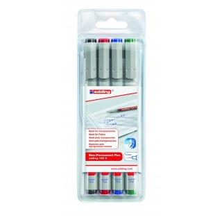 Edding 150 S/4 S ohp marker set non permanent
