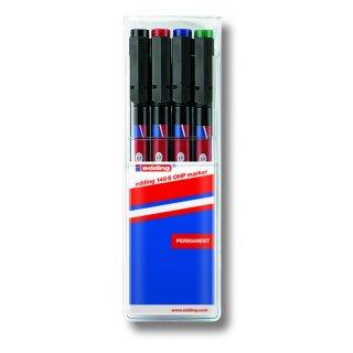 Edding 140 S/4 S ohp marker set permanent