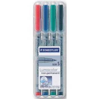 Folienschreiber 0,4mm wasserlöslich, farbig sortiert, nachfüllbar