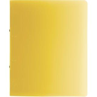 Brunnen Ringbuch Fact!A4 1,6cm Rückenbreite, PP, gelb transparent