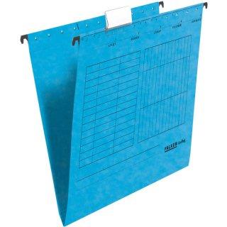 Hängemappe UniReg, blau 230g/m²-Kraftkarton, seitlich offen