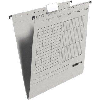 Hängemappe UniReg, grau 230g/m²-Kraftkarton, seitlich offen