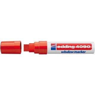Edding 4090 Window Marker Kreidemarke rot