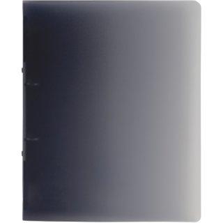 Brunnen Ringbuch Fact!A4 1,6cm Rückenbreite, PP, 4-Ring, grau transparent (Fb.80)