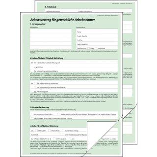 Sigel Arbeitsvertrag AV 422 für gewerbliche Arbeitnehmer