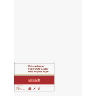 hochwertiges Universalpapier/ Multifunktionspapier, A4, 160g/m² , beidseitig bedruckbar, weiß, VE = 25 Blatt