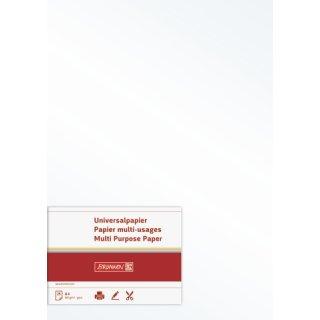 hochwertiges Universalpapier/ Multifunktionspapier, A4, 160g/m² , beidseitig bedruckbar, perlweiß, VE = 25 Blatt