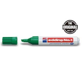 Marker No. 1 Keil 1-5mm grün nachfüllbar mit edding T 25