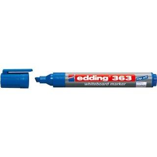 Whiteboardmarker Keilspitze 1-5mm blau