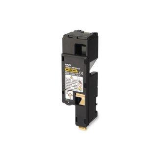 Epson C13S050611|0611 Toner gelb, 1.400 Seiten ISO/IEC 19798 für Aculaser C 1700 Series/CX 17/17 NF/WF